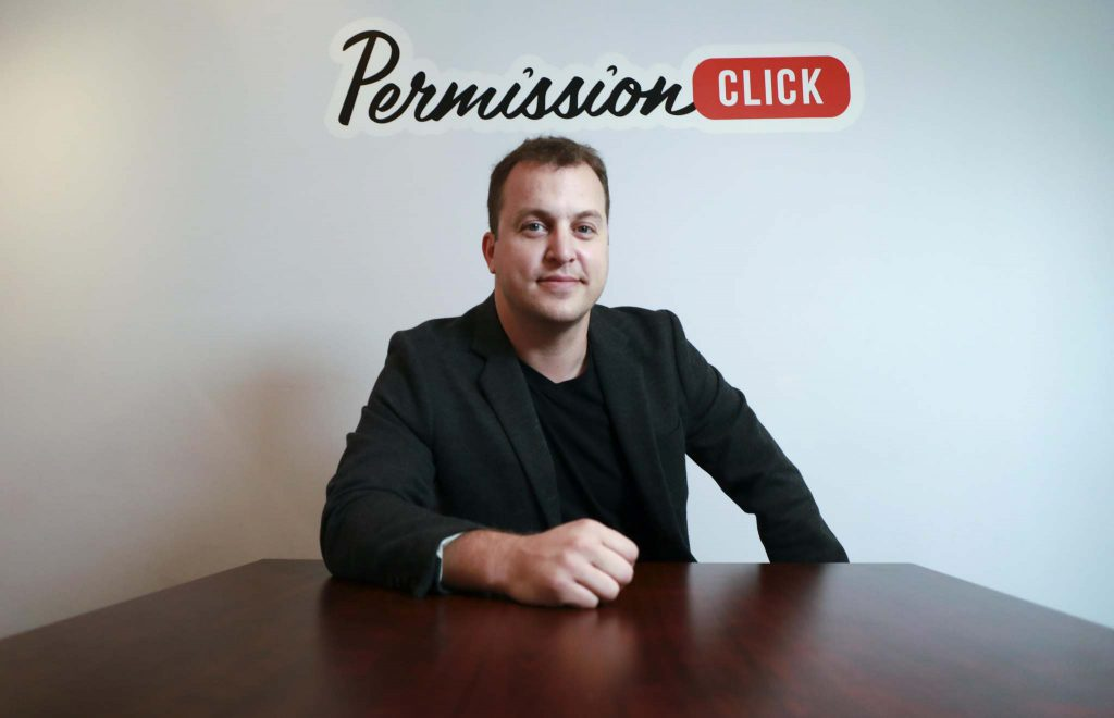 Photo of Chris Johnson, CEO of Permission Click